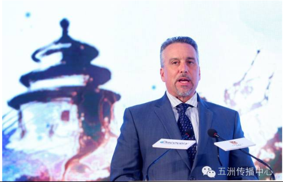Discovery探索亚洲有限责任公司代理总裁兼董事总经理马丁内斯先生活动现场致辞
